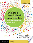 Psychiatric Consultation in Long Term Care