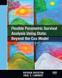 Flexible Parametric Survival Analysis Using Stata: Beyond the Cox Model