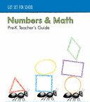 Numbers and Math Pre-K Teacher's Guide