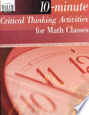 10 Minute Critical Thinking Activities for Math