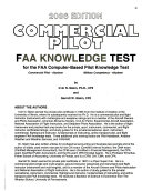 Commercial Pilot FAA Knowledge