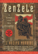 Zenzele : A Letter for My Daughter Book Cover