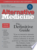 Alternative Medicine  Second Edition