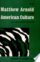 Matthew Arnold and American Culture