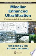 Micellar Enhanced Ultrafiltration