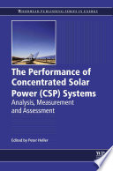 Ebook The Performance of Concentrated Solar Power (CSP) Systems Epub Peter Heller Apps Read Mobile