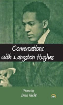 My Conversation with Langston Hughes