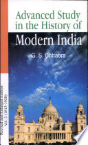 Advance Study In The History Of Modern India Volume 2 1803 1920