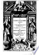 La gerusalemme liberata di Torquato Tasso  con gli argomenti    ciascum canto di Bartolomeo Barbato