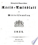 Königlich Bayerisches Kreis-Amtsblatt von Mittelfranken