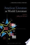 American Literature as World Literature