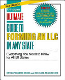 Ultimate Guide To Forming An Llc In Any State Second Edition