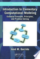 Introduction To Elementary Computational Modeling book