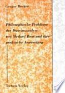 Philosophische Probleme der Daseinsanalyse von Medard Boss und ihre praktische Anwendung