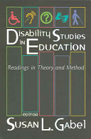 Disability Studies in Education