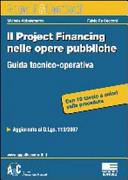 Il project financing nelle opere pubbliche