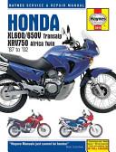 Haynes Honda XL600 650V Transalp  XRV750 Africa Twin  87 to  02