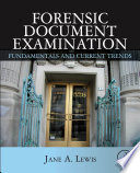 Forensic Document Examination