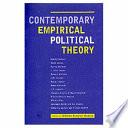 Contemporary Empirical Political Theory
