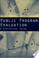 Public Program Evaluation
