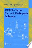 SEMPER   Secure Electronic Marketplace for Europe