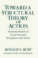 Toward a Structural Theory of Action