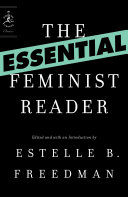 The Essential Feminist Reader