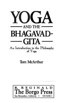 Yoga and the Bhagavad Gita