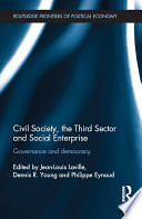 Civil Society  the Third Sector and Social Enterprise