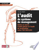 L audit de syst  me de management Mettre en oeuvre l audit interne et l audit de certification selon l ISO 19011 2012