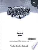 Language Power  Grades 3 5 Level A Teacher s Guide