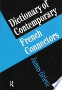 Dictionary of Contemporary French Connectors