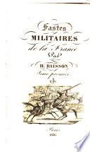 Fastes militaires de la France