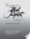 The Measurement Of Moral Judgement Volume 2 Standard Issue Scoring Manual