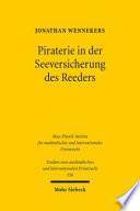 Piraterie in der Seeversicherung des Reeders