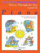 Alfred's Basic Piano Library - Theory Through the Year, Book 1A
