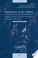 Translations of the Sublime