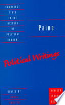 Paine  Political Writings