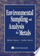 Environmental Sampling and Analysis for Metals