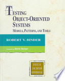 Testing Object oriented Systems
