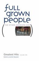 Full Grown People Book PDF
