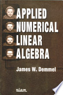 Applied Numerical Linear Algebra