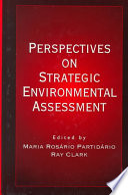 Perspectives on Strategic Environmental Assessment