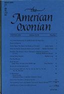 The American Oxonian