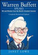 Warren Buffett Speaks Book