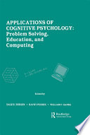 Applications of Cognitive Psychology