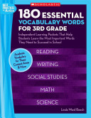 180 Essential Vocabulary Words for 3rd Grade
