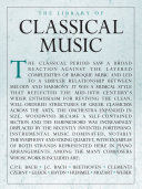 The Library Of Classical Music Book