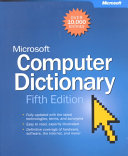Microsoft Computer Dictionary