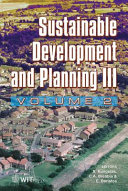 Sustainable Development And Planning Iii book